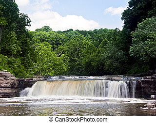 Lower Cataract Falls, Lieber State Recreation Area, Indiana