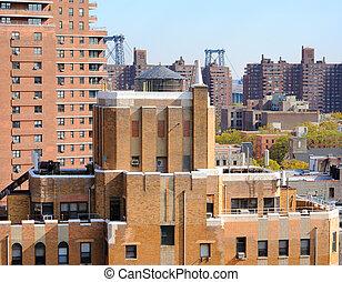 Lower East Side Cityscape