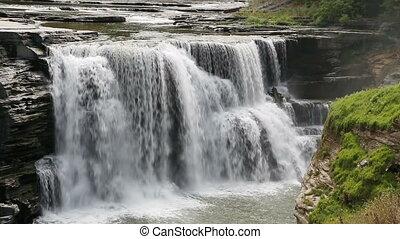 Lower Falls at Letchworth Loop