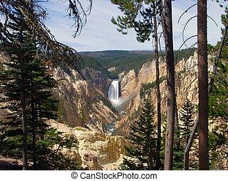 Lower Falls, yosemite National Park, U.S.A.