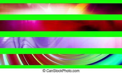 Lower third twenty Five GBS - Abstract looping Lower Thirds,...