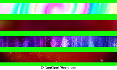 Lower third twenty GBS - Abstract looping Lower Thirds, use...