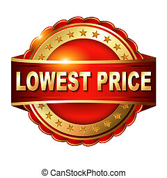 Lowest price guarantee golden