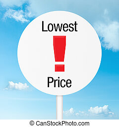 Lowest price road sign warning