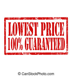 Lowest Price -stamp