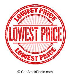 Lowest price stamp