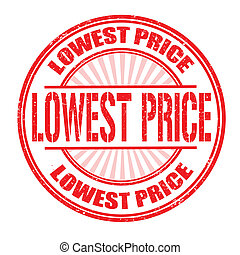Lowest price stamp