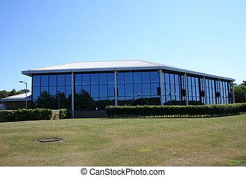 lowrise, edificio de oficinas
