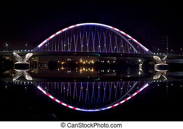 Lowry Avenue Bridge at Night
