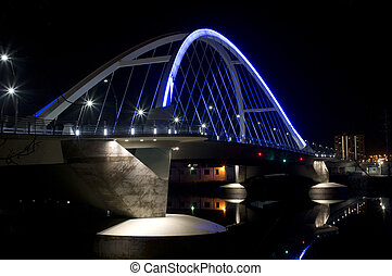 Lowry Avenue Illuminated Bridge