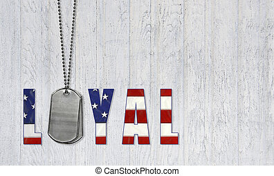 loyal military dog tags