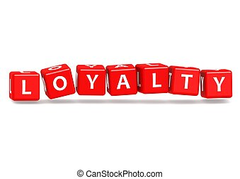 Loyalty - Rendered artwork with white background