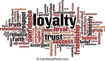 Loyalty word cloud