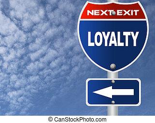 loyauté, panneaux signalisations