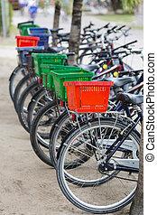 loyer, bicycles, seychelles, digue, la