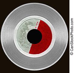 lp - abstract grunge vinyl