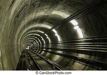LRT Tunnel - Light Rail Transportation Tunnel