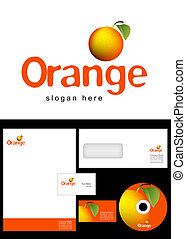 LS_G01_068 - Orange Logo Design and corporate identity...