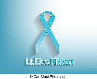Lt. Blue awareness Ribbon