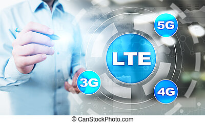 LTE band, mobile internet and telecommunication technology...