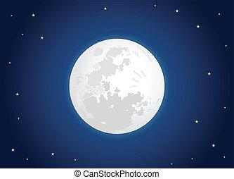 lua branca