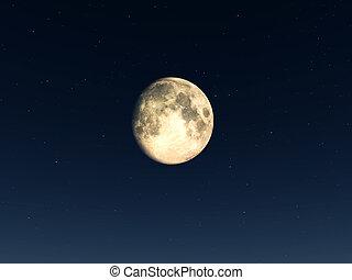 lua, noturna