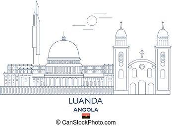 Luanda City Skyline, Angola