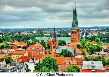 Lubeck Cathedral - Germany, Schleswig-Holstein