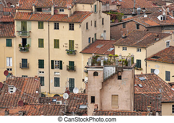 Lucca residential houses