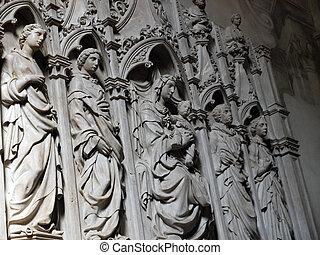 Lucca - San Frediano Church - interior
