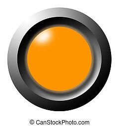 luce arancia, bottone