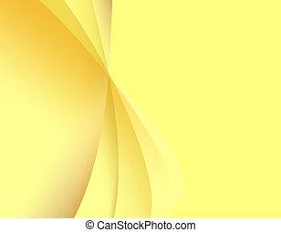 luce, astratto, sfondo giallo