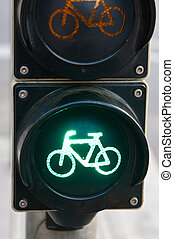 luce, bicycles, traffico