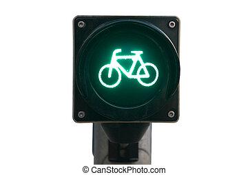 luce, bicycles, traffico, isolato