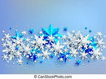 luce blu, bandiera, fondo