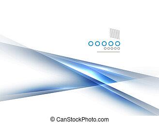 luce blu, diritto, linee, disegno, uggia