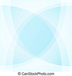 luce blu, vettore, fondo