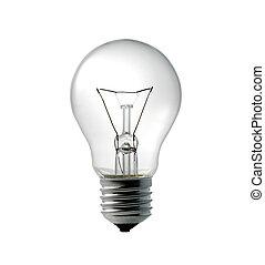luce, elettrico, bulbo