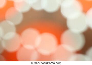 luce, fondo