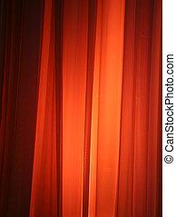 luce, macchia, contro, tenda