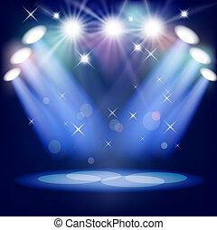 luce palcoscenico