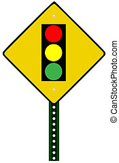 luce, segnale stradale