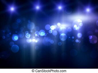 luce, sfocato