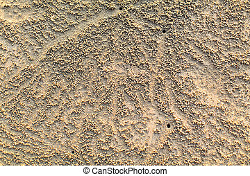 luce, spiaggia sabbia, texture.