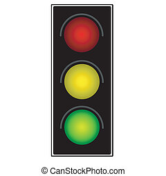 luce, traffico