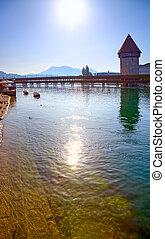 Lucerne city in Switzerland