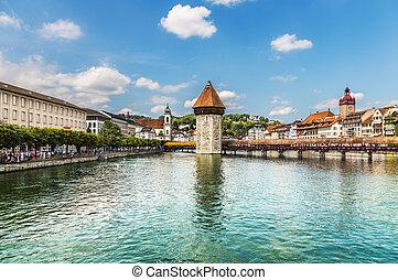 Chapel Bridge in Lucerne