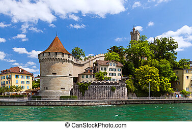 Lucerne, Switzerland - Beautiful view of Lucerne,...
