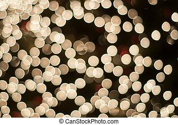 luces, brillante, plano de fondo