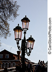 luces, calle